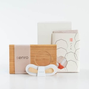 [Set] [Exclusive box] Baby gifts / Mukuri spoon + SENRO + Dishcloth