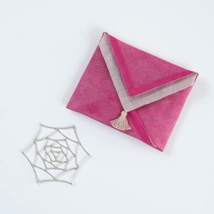 [Handkerchief wrapping] KAGO / Tin tableware / Rose / S / Nousaku