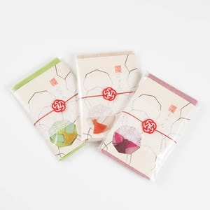 【お配りギフト】ふきん大 3色セット/梅水引ラッピング付/布巾/WDH