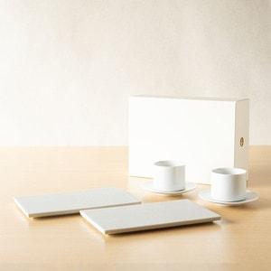 【セット】SUIのお茶菓子を楽しむティーセットペア/224porcelain