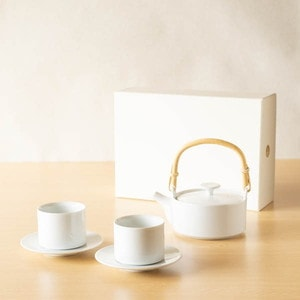 [Set] Tea set / Dobin & Teacup / SUI series / 224porcelain