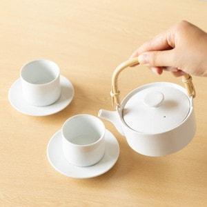 【セット】SUIの土瓶とティーカップのペア/224porcelain_Image_2