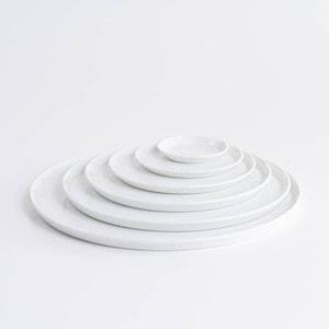 【セット】TYシリーズ Round Plate ホワイト 6枚セット 化粧箱入り/お皿/1616 arita japan_Image_1