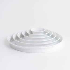 【セット】TYシリーズ Round Deep Plate ホワイト 6枚セット 化粧箱入り/お皿/1616 arita japan_Image_1