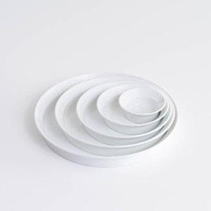 【セット】TYシリーズ Round Deep Plate ホワイト 5枚セット 化粧箱入り/お皿/1616 arita japan