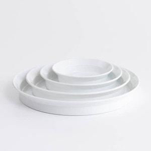【セット】TYシリーズ Round Deep Plate ホワイト 4枚セット 化粧箱入り/お皿/1616 arita japan_Image_1