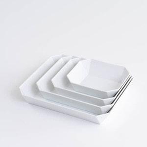 【セット】TYシリーズ Square Bowl ホワイト 4点セット 化粧箱入り/ボウル/1616 arita japan