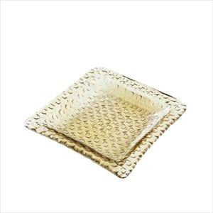 grid plate 23cm深皿 タン/プレート/Sghrスガハラ