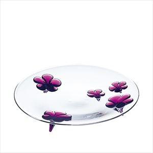 camellia 23cmプレート ワインレッド/お皿/Sghrスガハラ