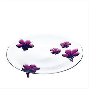 camellia 28cmプレート ワインレッド/お皿/Sghrスガハラ
