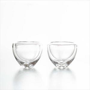 【セット】air lip グラスM クリアー ペア/グラス/Sghrスガハラ