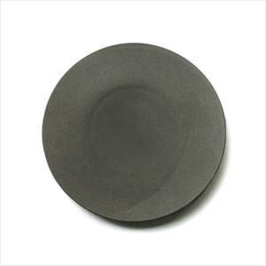 炻器plate L グレー/お皿/SyuRo