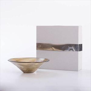 ガラスボウル/kasumi bowl M browngreen/fresco