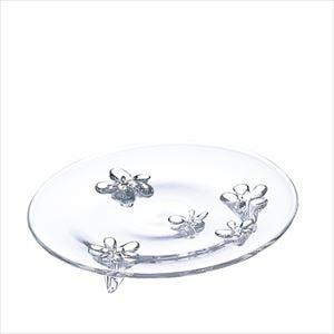 camellia 23cmプレート クリアー/お皿/Sghrスガハラ
