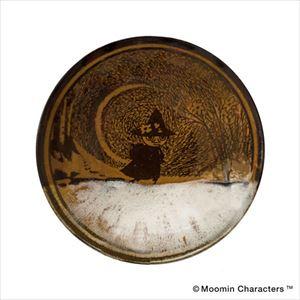 MOOMIN MASHIKO POTTERY-GLAZE- 飴釉 Ame/小皿/amabro
