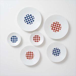 【セット】和モダン 縁起のよい市松のお皿3点ペアセット 化粧箱入/永峰製磁