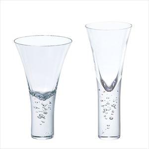 【セット】神秘的に立ち昇る泡 飲み比べセット クリアー/グラス/Sghrスガハラ