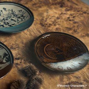 【セット】MOOMIN MASHIKO POTTERY-GLAZE- ムーミンとスナフキン ペアセット/小皿/amabro_Image_2