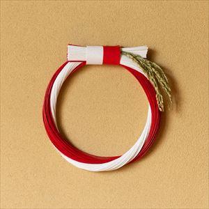 【2019年11月ごろ再販予定】紅白 実りある大輪 飾り板付/水引モダンお正月飾り