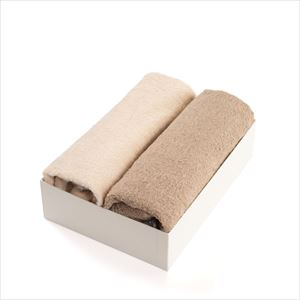 [Set of 2] [Exclusive box] Organic Towel / Natural colors set / Bath Towel / SyuRo