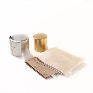 【セット】暮らしを楽しむ丸缶とハンドタオルのセット ナチュラル 化粧箱入/SyuRo