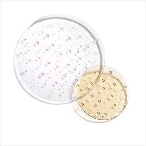 【セット】droplet 大1枚小1枚 クリアー&タン 化粧箱入/お皿/Sghrスガハラ