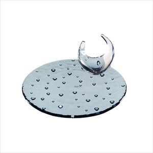 【セット】droplet 18cmのアクセサリートレイセット インディゴ 化粧箱入/お皿/Sghrスガハラ
