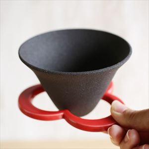 【アウトレット】コーヒー道具/Caffe hat red/224porcelain4000円→3600円 《撮影に使用》
