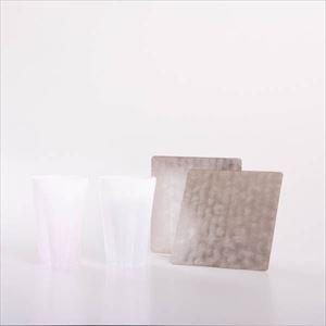 【セット】桜とかざはな 春の雪セット 化粧箱入/タンブラーとすずがみペア