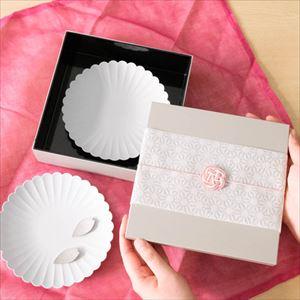 【玉手箱セット】お花見お食事ペア 一段重(大) ピンクの布巾包_Image_2
