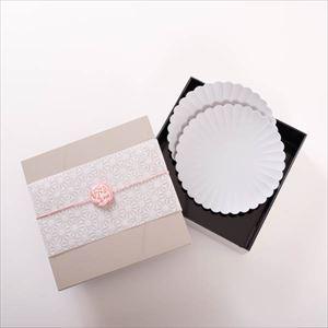 【玉手箱セット】お花見お皿ペア 一段重(大)