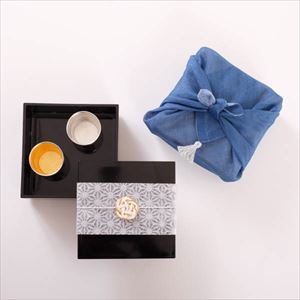 [Tamatebako set] [Handkerchief wrapping] Cameraman recommended set / Single Jubako box (S)