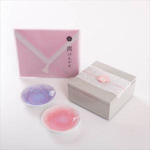 【玉手箱セット】二人のキラキラ宝石箱 一段重(小) ピンクのはんかち包_Image_1
