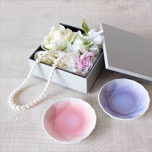【玉手箱セット】二人のキラキラ宝石箱 一段重(小) ピンクのはんかち包_Image_2