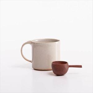 【セット】コーヒーを楽しむ モデラートマグと木匙(大)のセット 化粧箱入/SyuRo