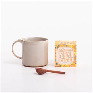 【セット】紅茶を楽しむ モデラートマグと木匙(小)の柚子ティーセット 化粧箱入/SyuRo