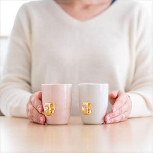 【セット】CUP RINGペア 紅白セット ピンクゴールド&ホワイトゴールド 化粧箱入/マグカップ/Floyd_Image_4