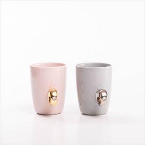 【セット】CUP RINGペア  ピンクゴールド&グレイシルバー 化粧箱入/マグカップ/Floyd