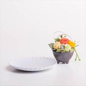 【セット】お花とパレスプレート オレンジ 化粧箱入/フラワーギフト_Image_1
