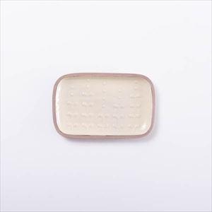 【アウトレット】長方皿 小 いっちん/やちむん/一翠窯 3000円→2700円《製造上の小さなヒビあり》