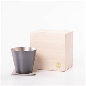 純銅製カップ ブラウン 桐箱入/WDH