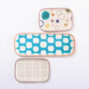 【セット】長方皿(長&小) バイヤーが人に贈りたい3点セット 化粧箱入/やちむん/一翠窯