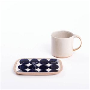 【セット】やちむんとマグカップのセット 呉須丸紋 化粧箱入