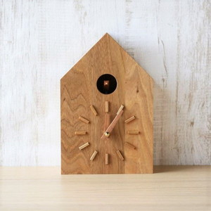 【アウトレット】 時計/鳩時計 クルミ/モアトゥリーズデザイン 《商品入れ替え》