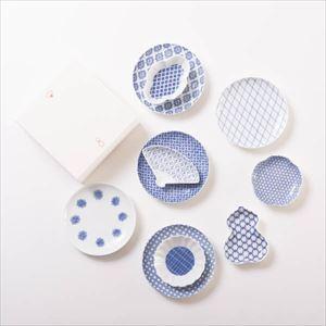 【セット】東屋コーデを楽しむ 小皿と豆皿の印判セット 化粧箱入