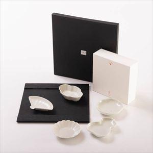 【セット】シックな夜に SUZURI正方皿と豆皿セット 化粧箱入