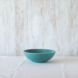 7寸平鉢 青磁/白山陶器
