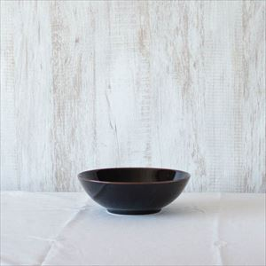 7寸平鉢 天目/白山陶器