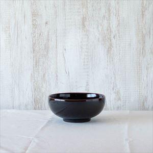 6寸浅めん丼 天目/白山陶器