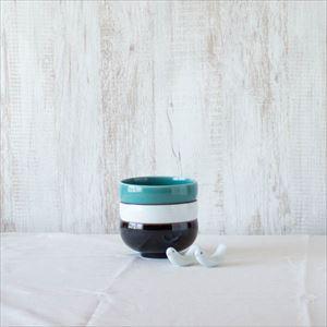 【セット】店長おすすめ!ラブバードと汁碗3色セット 化粧箱入/白山陶器